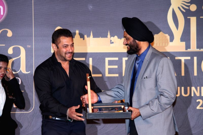 Actor Salman Khan during the press conference of 16th International Indian Film Academy (IIFA) Awards in Mumbai on May 20, 2016. - Salman Khan