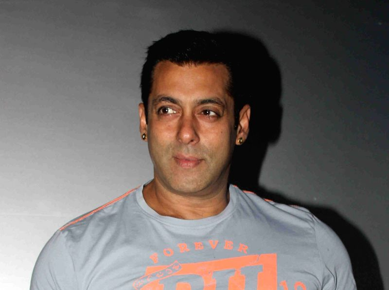 Actor Salman Khan. (Image Source: IANS)