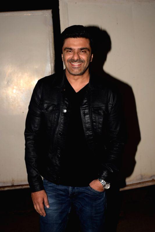 "Actor Samir Soni at the screening of web series ""The Test Case"" in Mumbai on Jan 29, 2018. - Samir Soni"