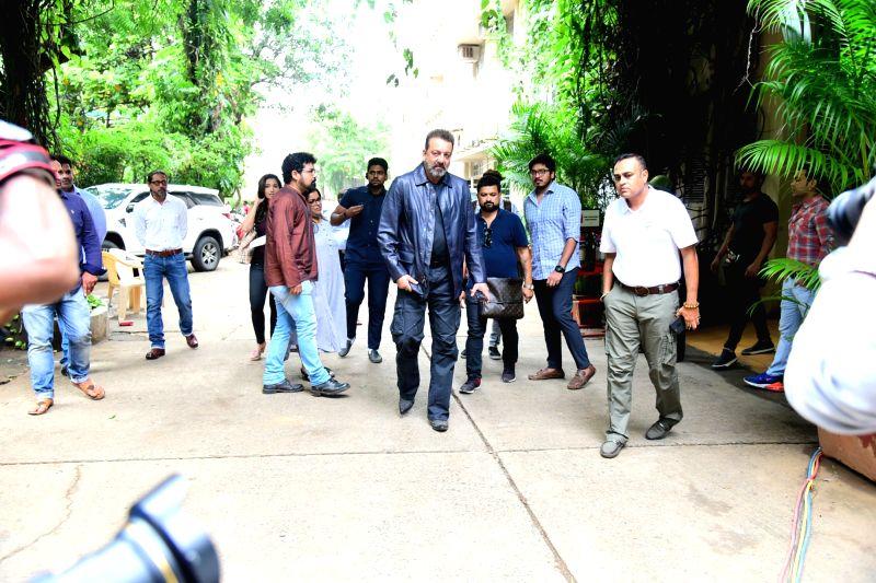 Actor Sanjay Dutt seen at a studio in Bandra, Mumbai on July 12, 2018. - Sanjay Dutt
