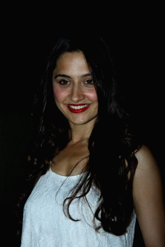Actor Sanjeeda Sheikh during the premiere of Star Plus show `Ek Hasina Thi` in Mumbai on Monday, April 14, 2014. - Sanjeeda Sheikh