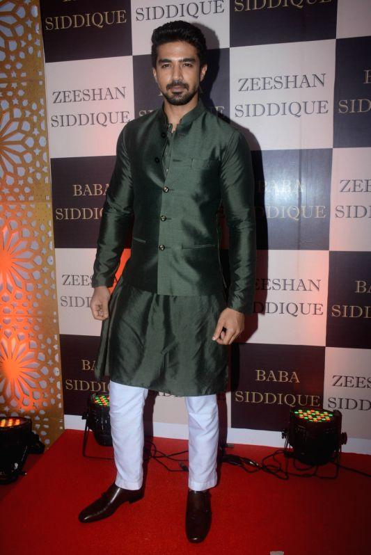 Actor Saqib Saleem at politician Baba Siddique's iftar party in Mumbai on June 10, 2018. - Saqib Saleem