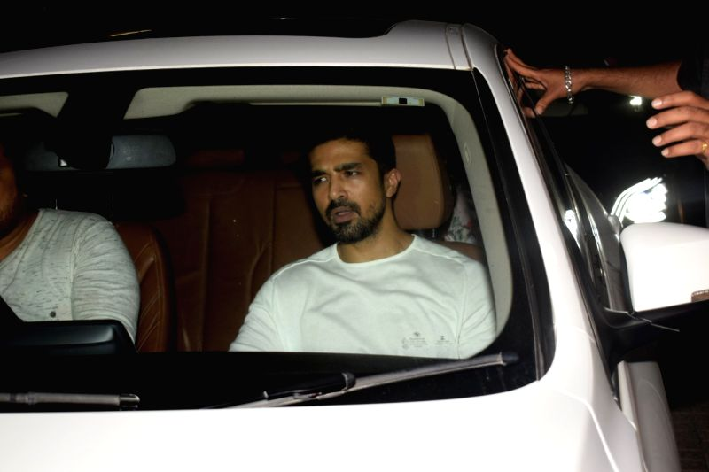 "Actor Saqib Saleem at the special screening of his upcoming film ""Race 3"" in Mumbai on June 12, 2018. - Saqib Saleem"