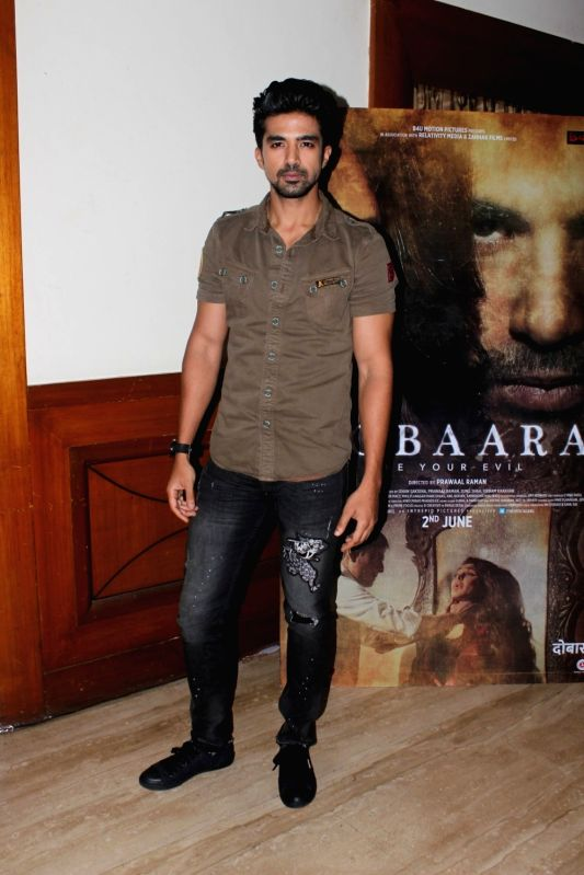 "Actor Saqib Saleem during an interview for film ""Dobaara""  in Mumbai on May 11, 2017. - Saqib Saleem"