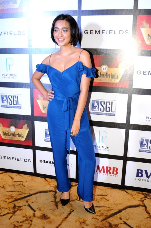 Actor Sayani Gupta during the jury meet of 13th Gemfields Retail Jeweller India Awards in Mumbai on June 3, 2017. - Sayani Gupta