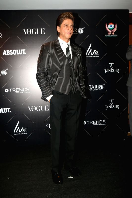 "Actor Shah Rukh Khan at the red carpet of ""Vogue Beauty Awards"" in Mumbai on July 31, 2018. - Shah Rukh Khan"