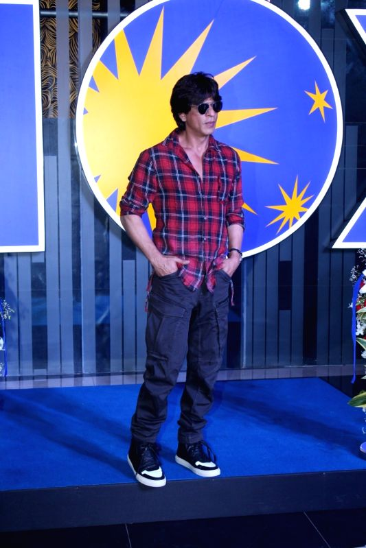 Actor Shah Rukh Khan during the inauguration of new INOX theater in Mumbai on May 11, 2017. - Shah Rukh Khan
