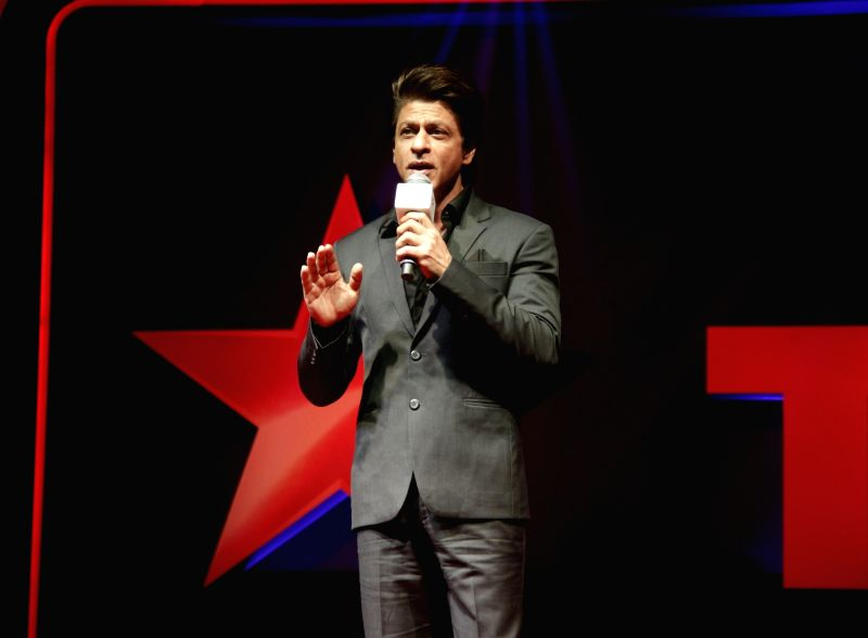 "Actor Shah Rukh Khan during the launch of ""TED Talks India: Nayi Soch"" in Mumbai on Oct 5, 2017. - Shah Rukh Khan"