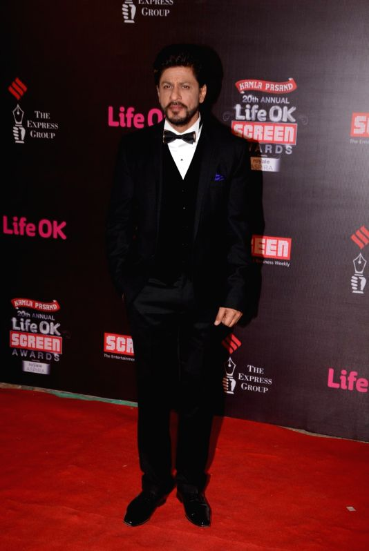 20th Annual Life OK Screen Awards - Shahrukh Khan