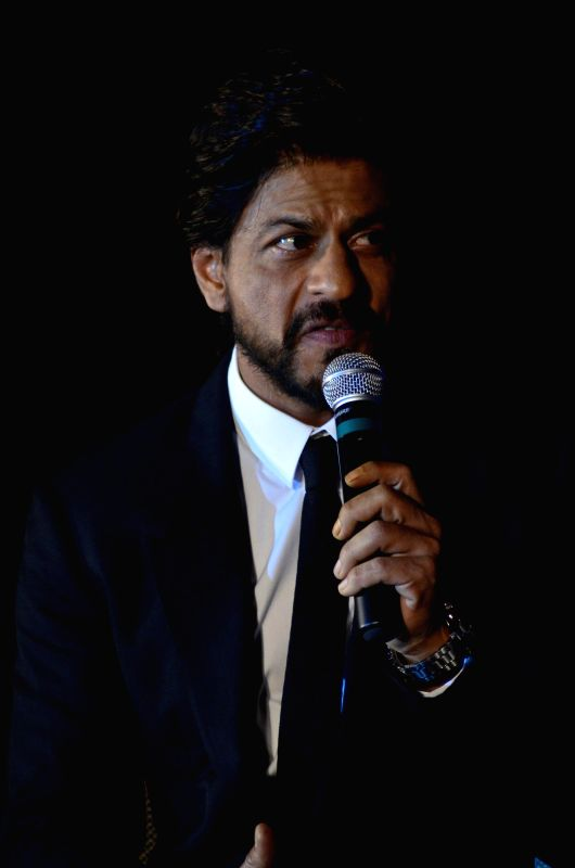 Actor Shahrukh Khan during the launch of Leading Jewellers of the world presents Ticket to Bollywood by Gitanjali Gems Pvt Ltd in Mumbai on July 19, 2014. - Shahrukh Khan