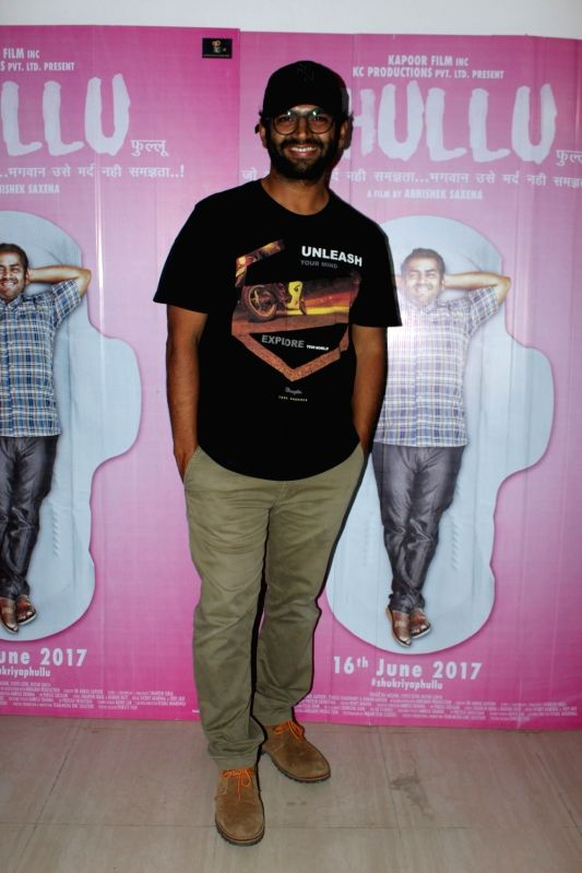"Actor Sharib Hashmi during a press conference to promote his upcoming film ""Phullu"" in Mumbai on June 8, 2017. - Sharib Hashmi"