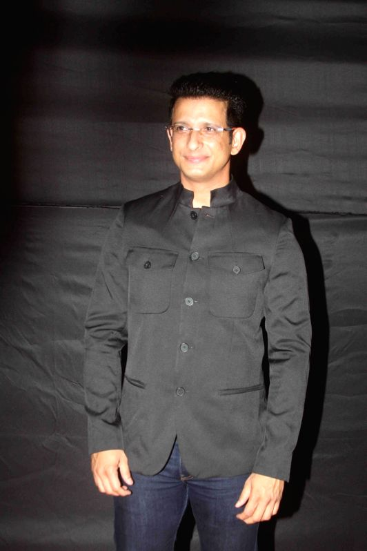 Actor Sharman Joshi during the Dada Saheb Film Foundation Awards 2017 in Mumbai on May 7, 2017. - Sharman Joshi