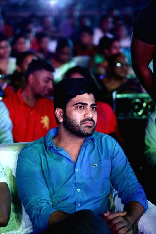 "Actor Sharwanand Myneni stills from Telugu film ""Mahanubhavudu"" in Hyderabad. - Sharwanand Myneni"
