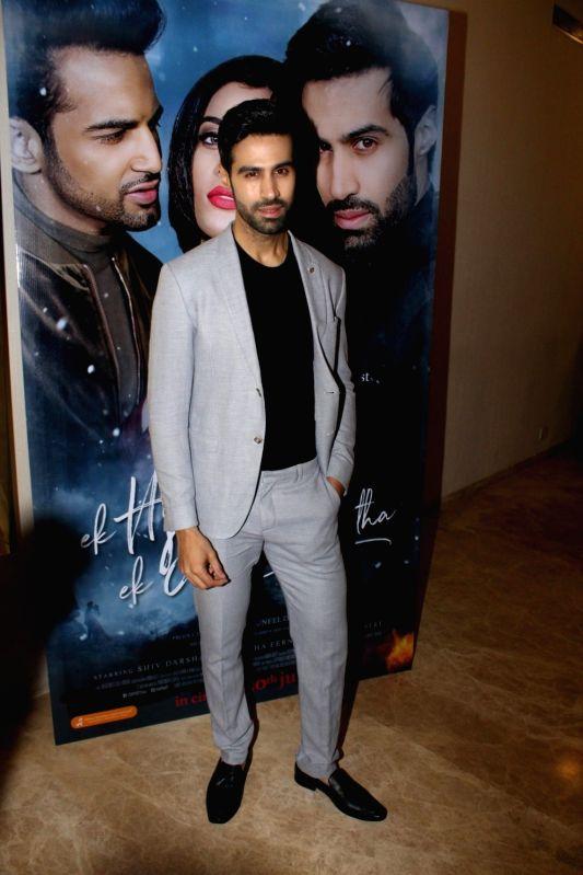 "Actor Shiv Darshan during the music launch of film ""Ek Haseena Thi Ek Deewana Tha"" in Mumbai, on June 12, 2017. - Shiv Darshan"