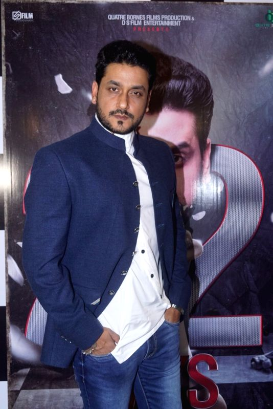 "Actor Shivam Tiwari at the trailer launch of upcoming film ""22 Days"" in Mumbai, on July 24, 2018. - Shivam Tiwari"