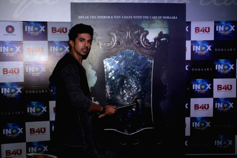 Actor Shresth Kumar during the song launch of film Dobaara in Mumbai, on May 17, 2017. - Shresth Kumar