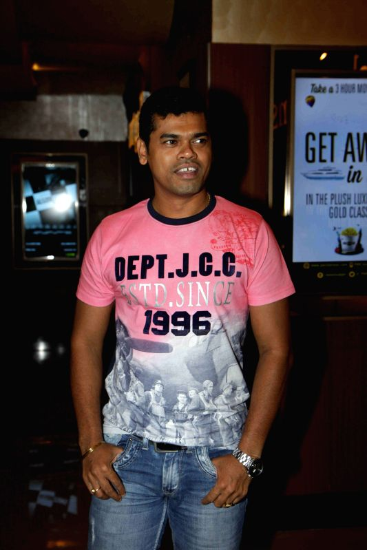 Actor Siddarth Jadhav during the launch of book on film Gour Hari Dastan - The Freedom File in Mumbai, on Aug 10, 2015. - Siddarth Jadhav
