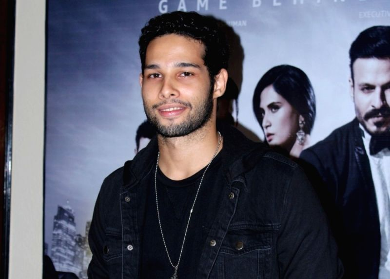 Actor Siddhant Chaturvedi. (File Photo: IANS)