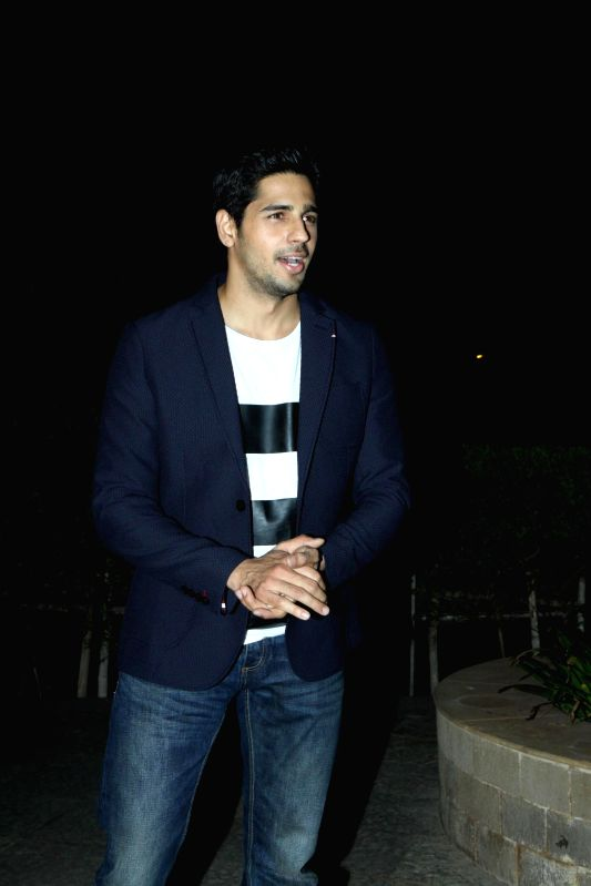 Actor Siddharth Malhotra during the press conference for the success of film Ek Villian at Hotel Sun N Sand in Mumbai, on July 1, 2014. - Siddharth Malhotra