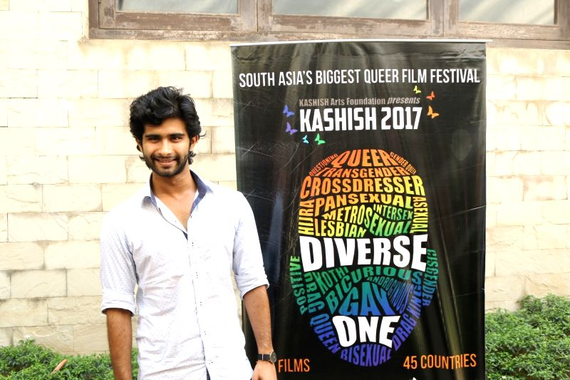 Actor Siddharth Menon during the trailer launch of Kashish Mumbai International Queer Film Festival, South Asia's largest LGBTQ film festival in Mumbai on May 17, 2017. - Siddharth Menon