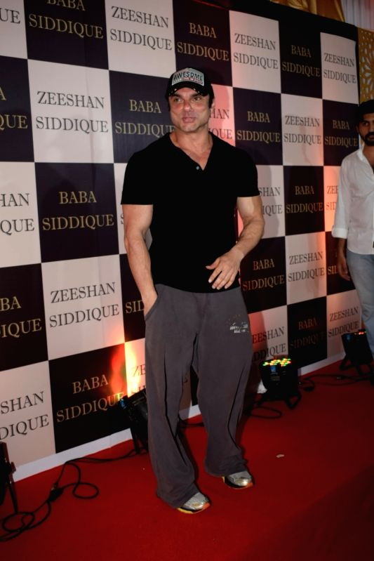 Actor Sohail Khan at politician Baba Siddique's iftar party in Mumbai on June 10, 2018. - Sohail Khan