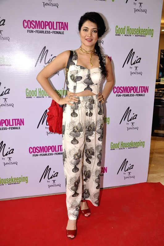 Actor Sonal Sehgal during the launch of Mia jewellery in association with Good House Keeping and Cosmo in Mumbai on June 28, 2014. - Sonal Sehgal