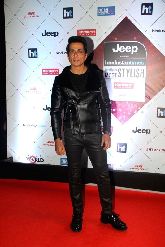 "Actor Sonu Sood at the red carpet of ""HT India's Most Stylish Awards"" in Mumbai on Jan 24, 2018. - Sonu Sood"