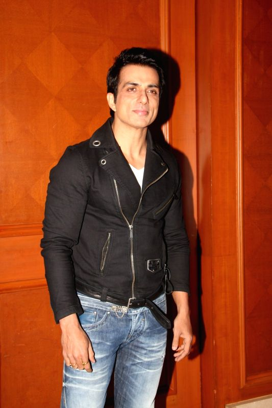Actor Sonu Sood during the launch of reality show Comedy Superstar on SAB TV in Mumbai, on Aug 10, 2015. - Sonu Sood