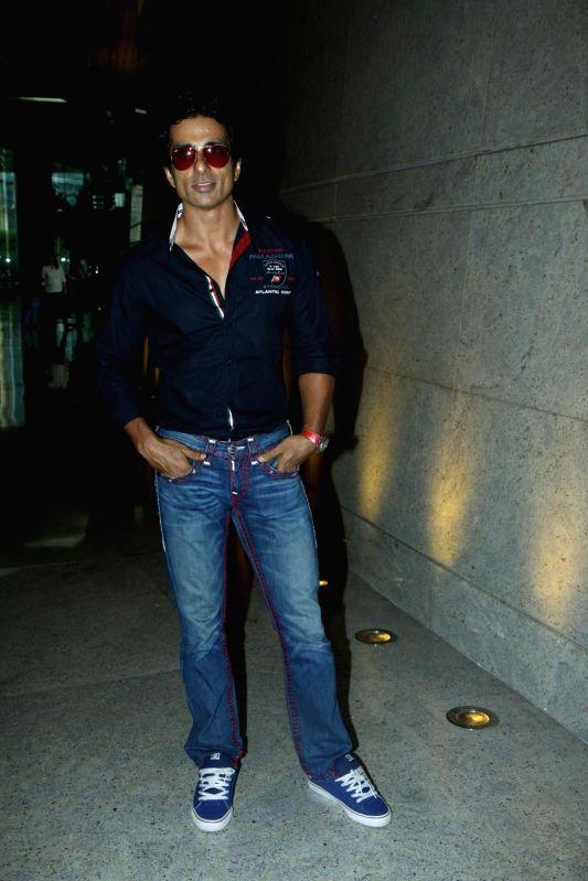 Actor Sonu Sood during the launch of VIVA 6 of Vibgyor School in Mumbai, on June 28, 2014.