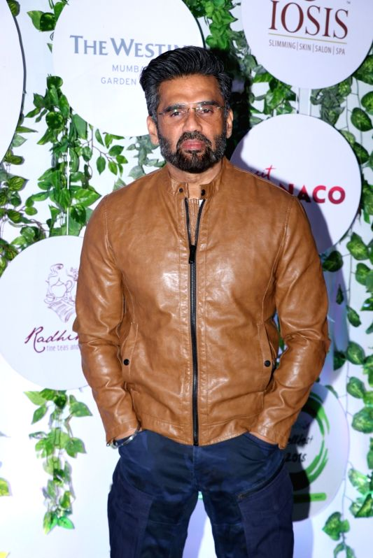 Actor Suniel Shetty at the red carpet of Asia Spa Fit & Fabulous Awards 2018 in Mumbai on Oct 30, 2018.