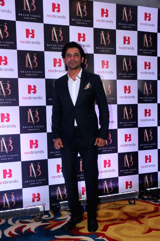 Actor Sunil Grover at the Brand Vision Summit and Awards in Mumbai on Jan 30, 2018. - Sunil Grover
