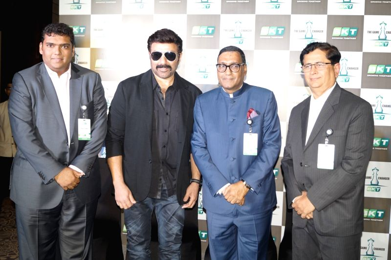 Actor Sunny Deol during a programme in New Delhi on Aug 10, 2016. - Sunny Deol