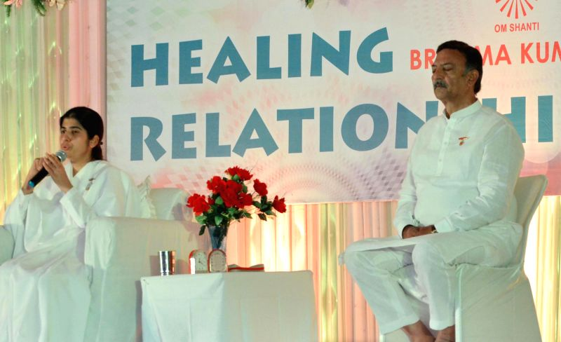 Actor Suresh Oberoi during a programme organised in Amritsar on June 29, 2014.