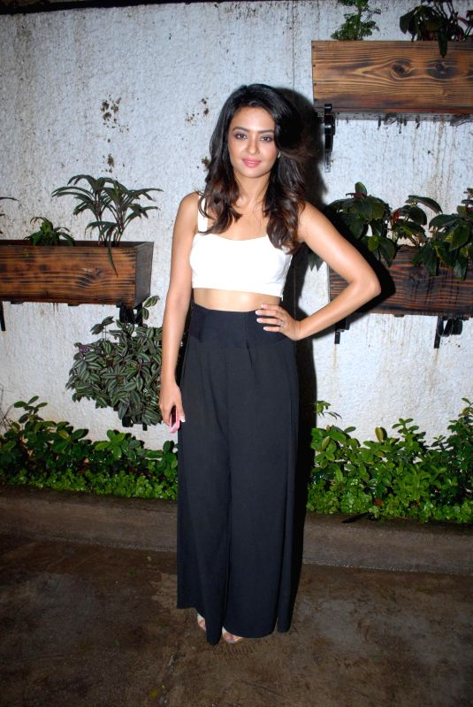 Actor Surveen Chawla during special screening of film Hate Story 2, in Mumbai on July 17, 2014. - Surveen Chawla