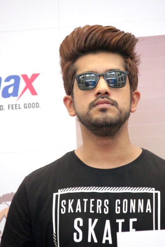 Actor Suyyash Rai during the launch of MAX Summer Collection in Mumbai on April 13, 2017. - Suyyash Rai