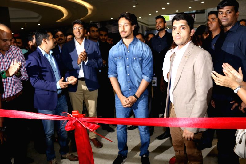 Actor Tiger Shroff during the Launch of Lifestyle New Store With Tiger Shroff, in Mumbai, on May 18, 2017. - Tiger Shroff