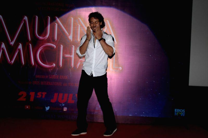 Trailer launch of film  - Tiger Shroff