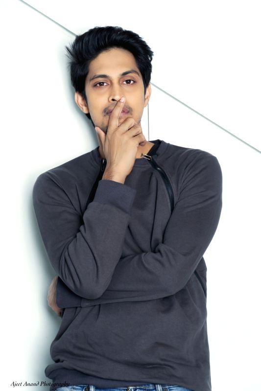 Actor Tushar Pandey.