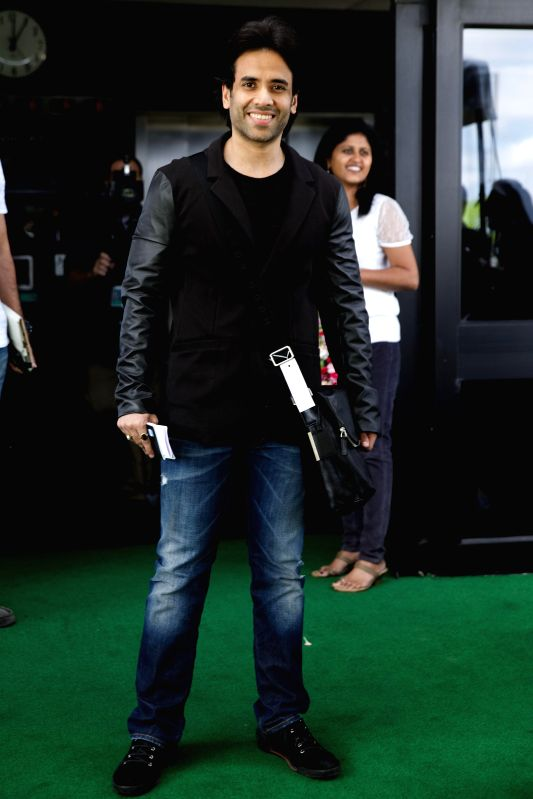 Actor Tusshar Kapoor arrives to attend the 15th Annual IIFA weekend in Florida of United States of America. - Tusshar Kapoor