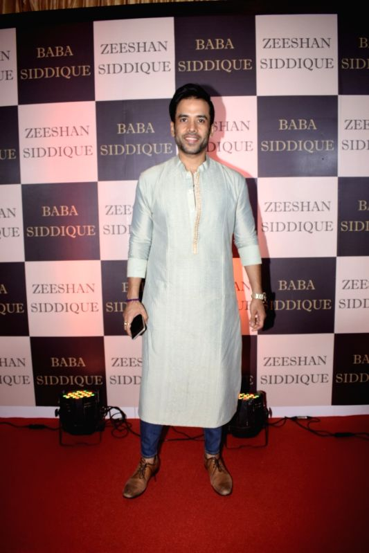 Actor Tusshar Kapoor at politician Baba Siddique's iftar party in Mumbai on June 10, 2018. - Tusshar Kapoor