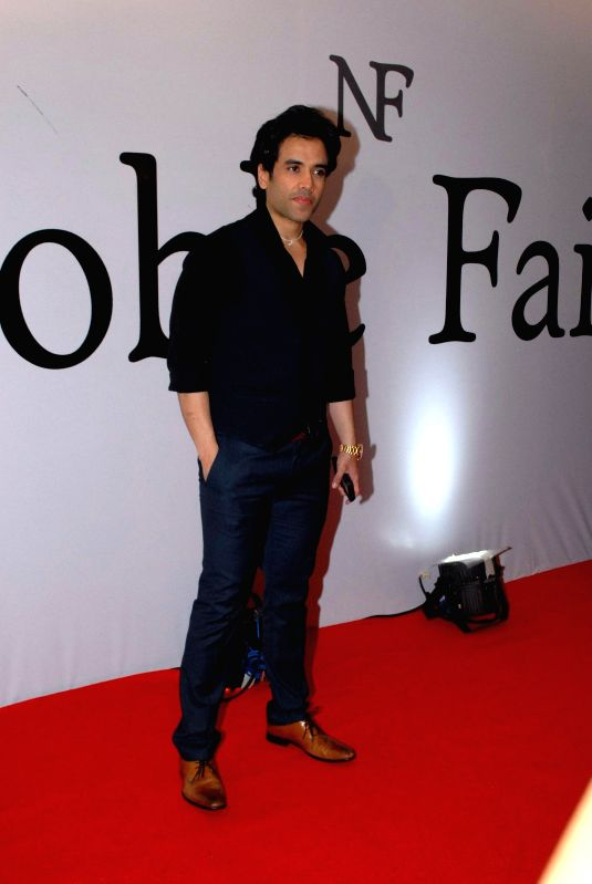 Actor Tusshar Kapoor during the launch of the brand Noble Faith in Mumbai on Aug 14, 2014. - Tusshar Kapoor