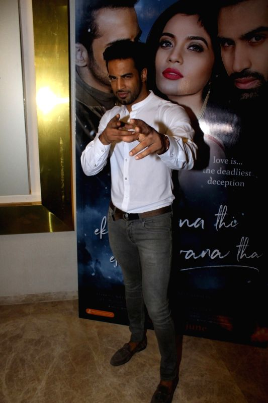 "Actor Upen Patel during the music launch of film ""Ek Haseena Thi Ek Deewana Tha"" in Mumbai, on June 12, 2017. - Upen Patel"