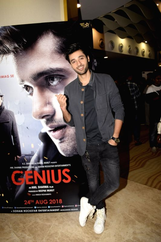 "Actor Utkarsh Sharma at the trailer launch of upcoming film ""Genius"" in Mumbai, on July 24, 2018. - Utkarsh Sharma"