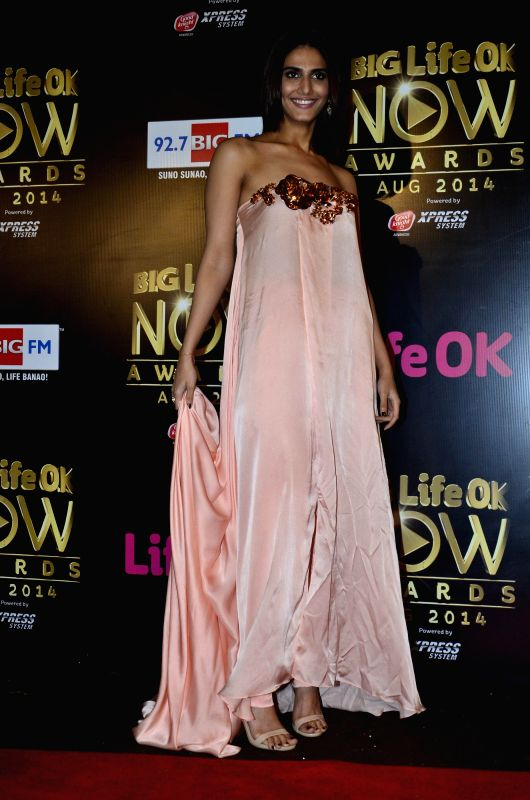 Actor Vaani Kapoor during the Big Life Ok Now Awards in Mumbai, on August 3, 2014. - Vaani Kapoor