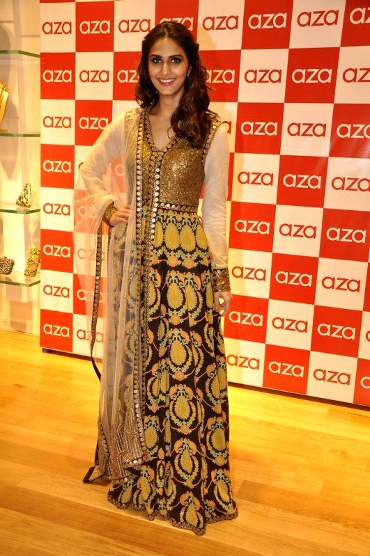 Actor Vaani Kapoor during the launch of Aza store in Mumbai, on Aug 28, 2014. - Vaani Kapoor