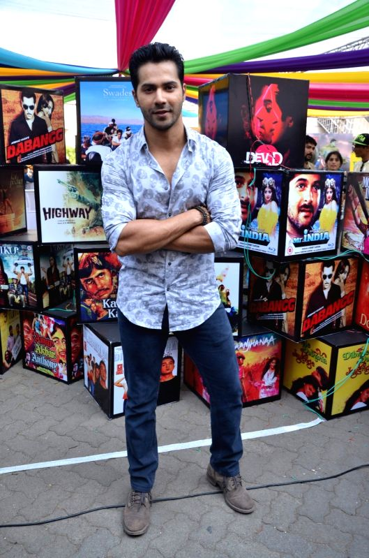 Actor Varun Dhawan at the 2nd day of Jio MAMI 17th Mumbai Film Festival, in Mumbai on Oct. 31, 2015. - Varun Dhawan