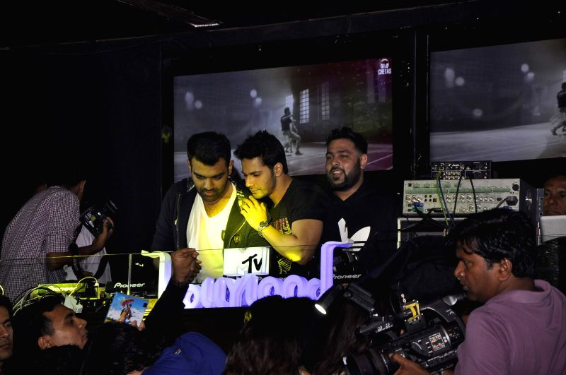 Actor Varun Dhawan at the MTV Bollyland event in Mumbai on Friday, June 20, 2014.