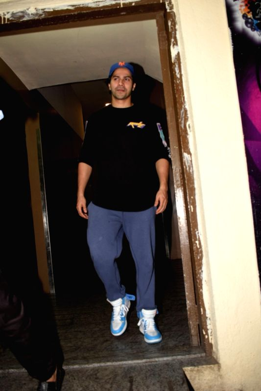 Actor Varun Dhawan seen at a cinema theatre in Juhu, Mumbai on July 27, 2018. - Varun Dhawan