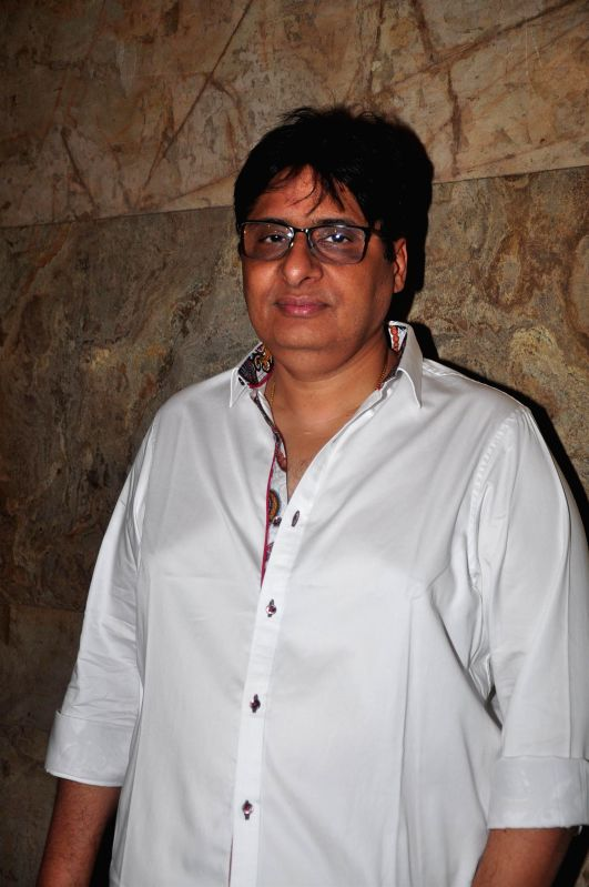 Actor Vashu Bhagnani during the screening of film Bobby Jasoos in Mumbai on July 3, 2014. - Vashu Bhagnani