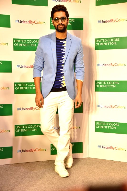 Actor Vicky Kaushal at a store launch in Mumbai on Feb 11, 2019. - Vicky Kaushal